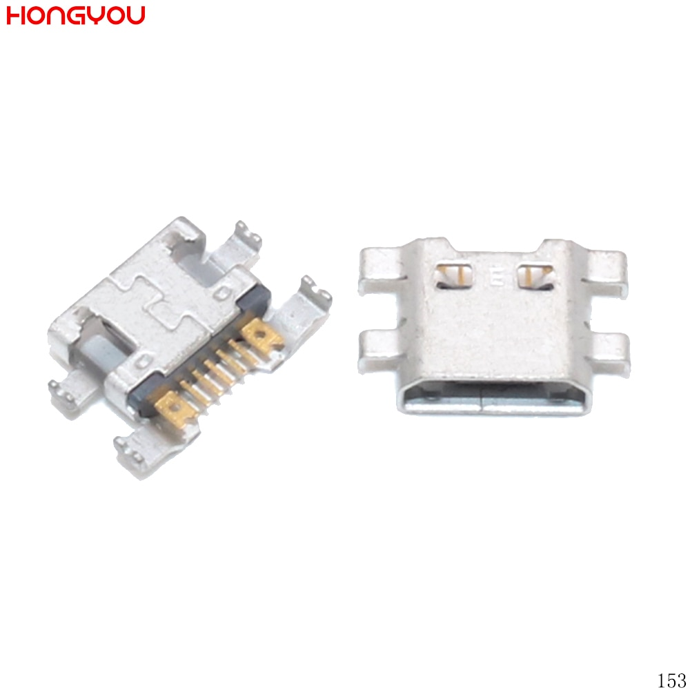 30PCS/Lot Micro Usb Charge Socket Jack Dock Plug For LG G2 Mini D620 D618 F240 F240S PCB Mini USB Charging Connector Port