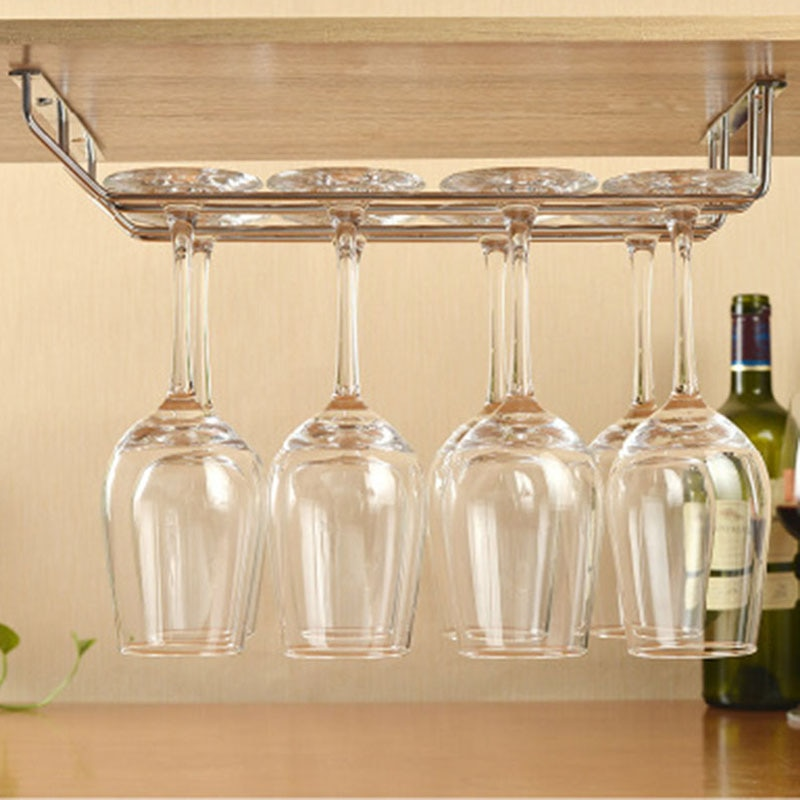 Creative Inverted Red Wine Glass Holder High Quality Suspended Glass Holder Bar Hanging Cup Holder Wine Cup Rack European Style