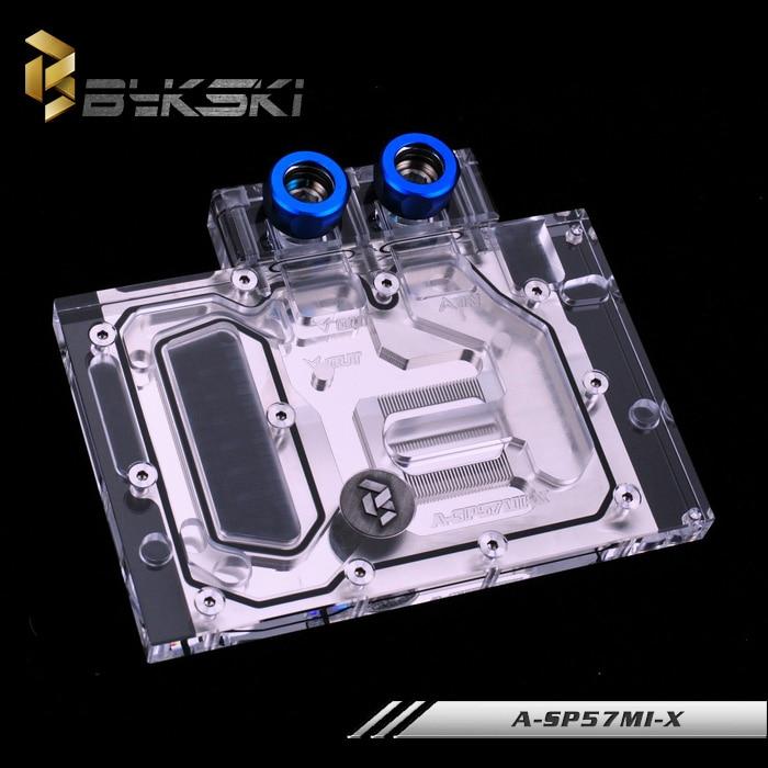 Блок водяного охлаждения Bykski A-SP57MI-X GPU для Sapphire RX570 4G D5