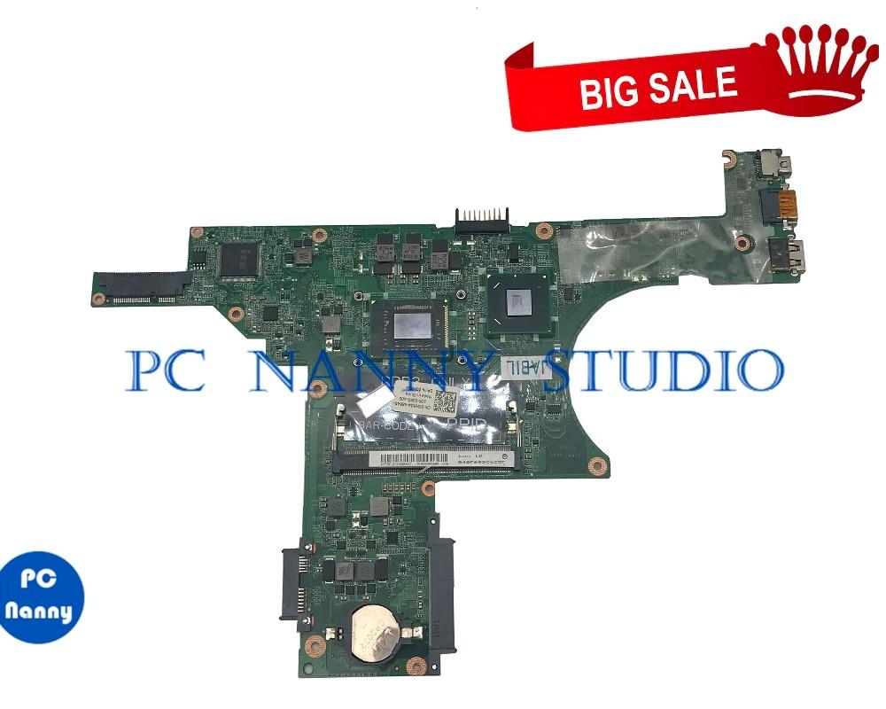 N411Z PCNANNY Para Inspiron 14z MOTHERBOARD 0CHRG4 DA0R05MB8D2 I3-2350UM HM65 DDR3 testado