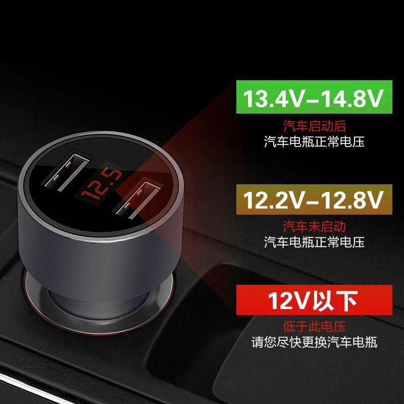 Dual del coche del cargador del coche del USB pantalla LED Digital 5 V 3.1A para Citroen C4 C5 VW Polo Passat B6 B5 B7 CC Tiguan Golf 4 Opel Astra H J G