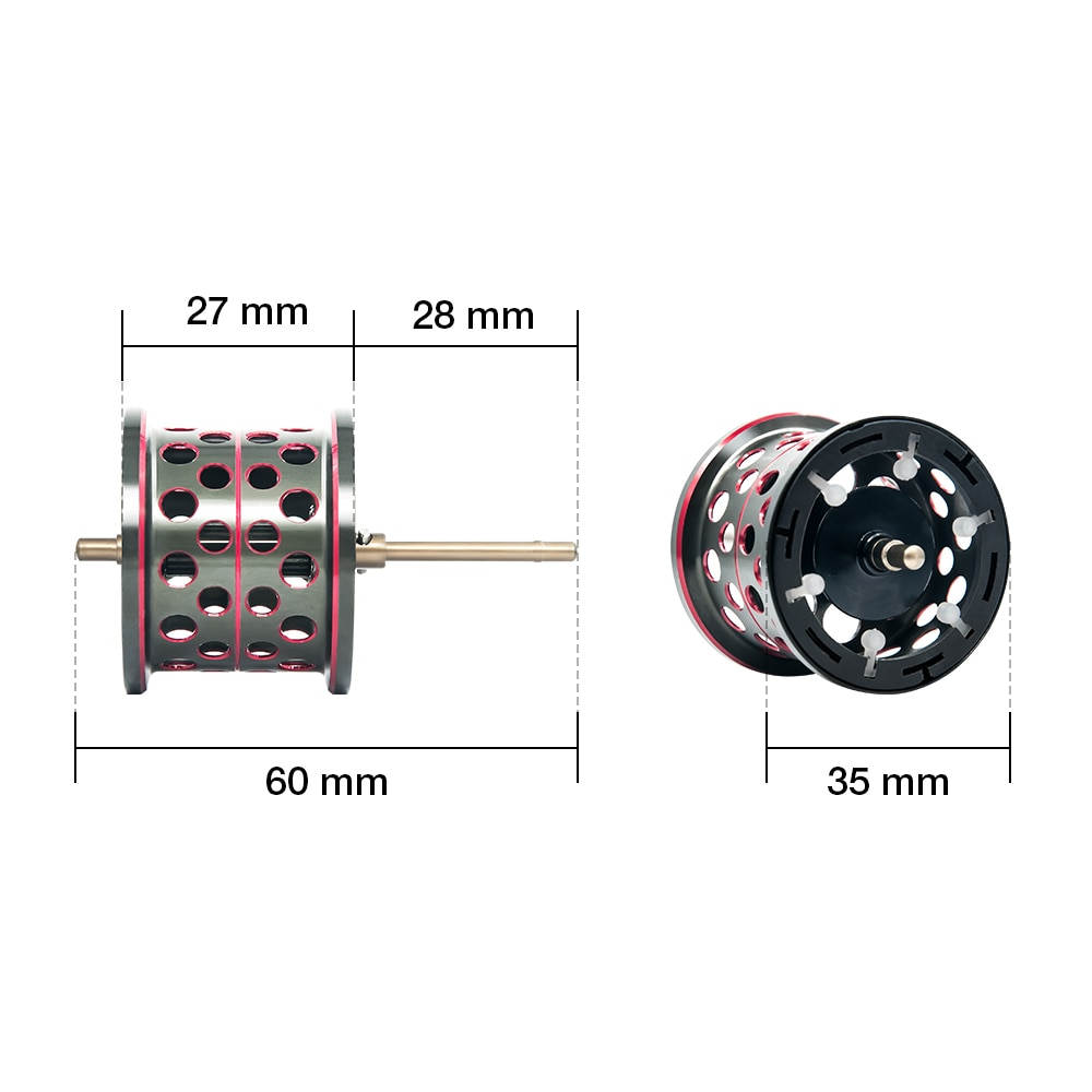 Piscifun SAEX ELITE Baitcasting Fishing Reel with Extra Spool Right Left Hand 13BB 7.3:1 Gear Ratio 167g Reel Fishing Tackle enlarge
