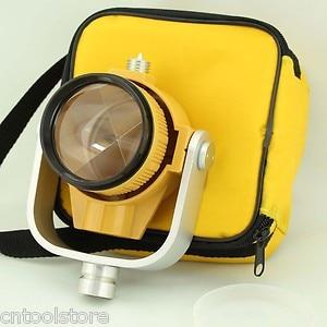 Prisma individual con bolsa para estación Total color amarillo