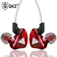 Спортивные наушники QKZ CK5, стереонаушники для мобильного телефона, наушники для бега, dj-гарнитура с HD микрофоном, Аурикулярные наушники
