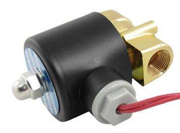 Envío Gratis 5 piezas DC 24 V 2 vías 2 posiciones válvula solenoide neumática 2W-040-10 N/C Gas agua aire