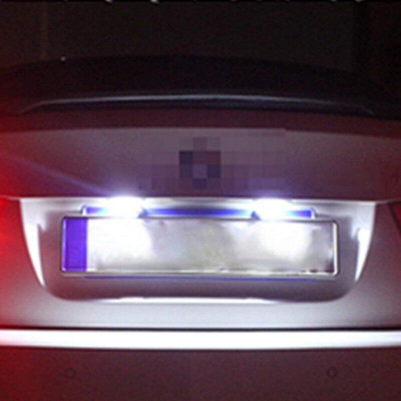 Luces antiniebla LED universales impermeables para camiones, remolques, furgonetas, vehículos todoterreno, luz de matrícula