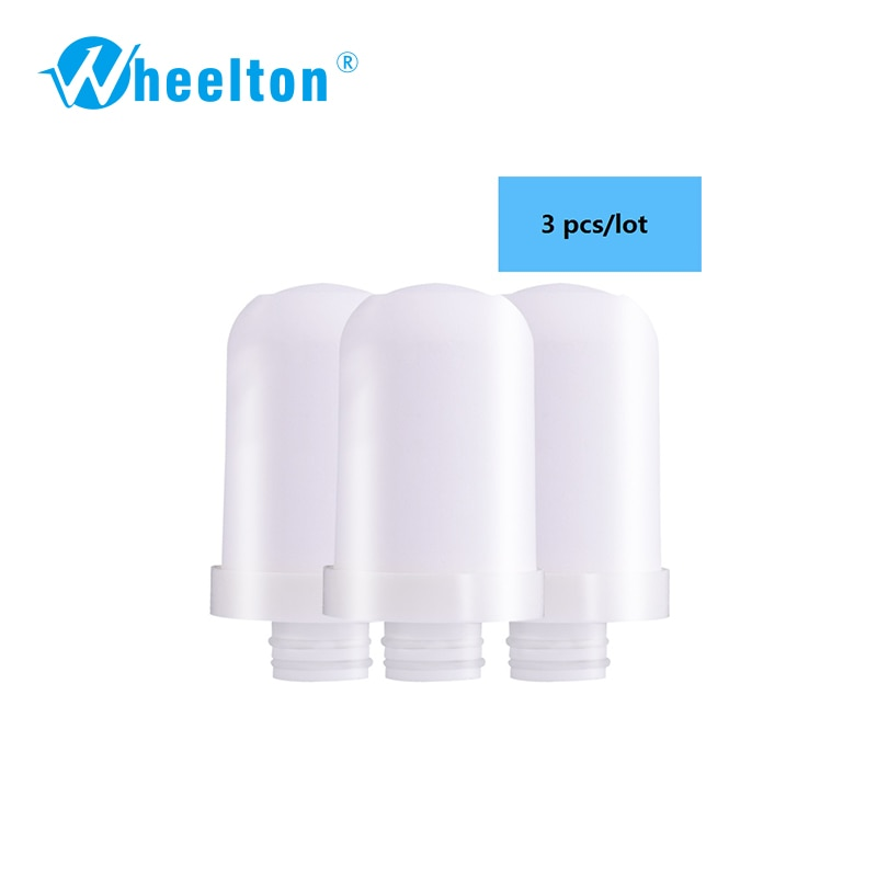 Wheelton Brand High Quality Filter cartridges element for Water filter faucet LW-89 Water purifier 3pcs/lot Free shipping