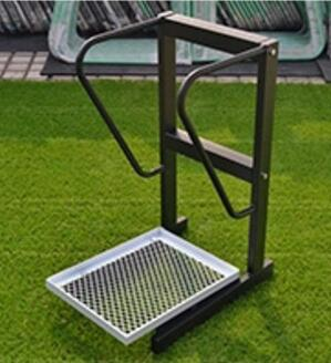 Estante de Golf Glub a prueba de humedad, estante de bolsa de Golf, soporte de exhibición de acero inoxidable, estante de almacenamiento de campo de práctica