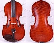 Livraison gratuite 4/4 violon Wenge pièces une pièce flamme érable retour Antique vernis épicéa maître puissant son Pro +