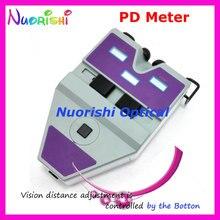 9D compteur PD numérique Type Essilor   Pupillomètre règle de Distance pour élève lampe cible Led lintérieur