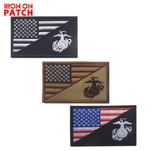 NAVY SEALS Combate Militar Tático Moral Remendo Da Bandeira Americana Emblema 3D Bordado Applique Para Jaquetas Jeans Mochila