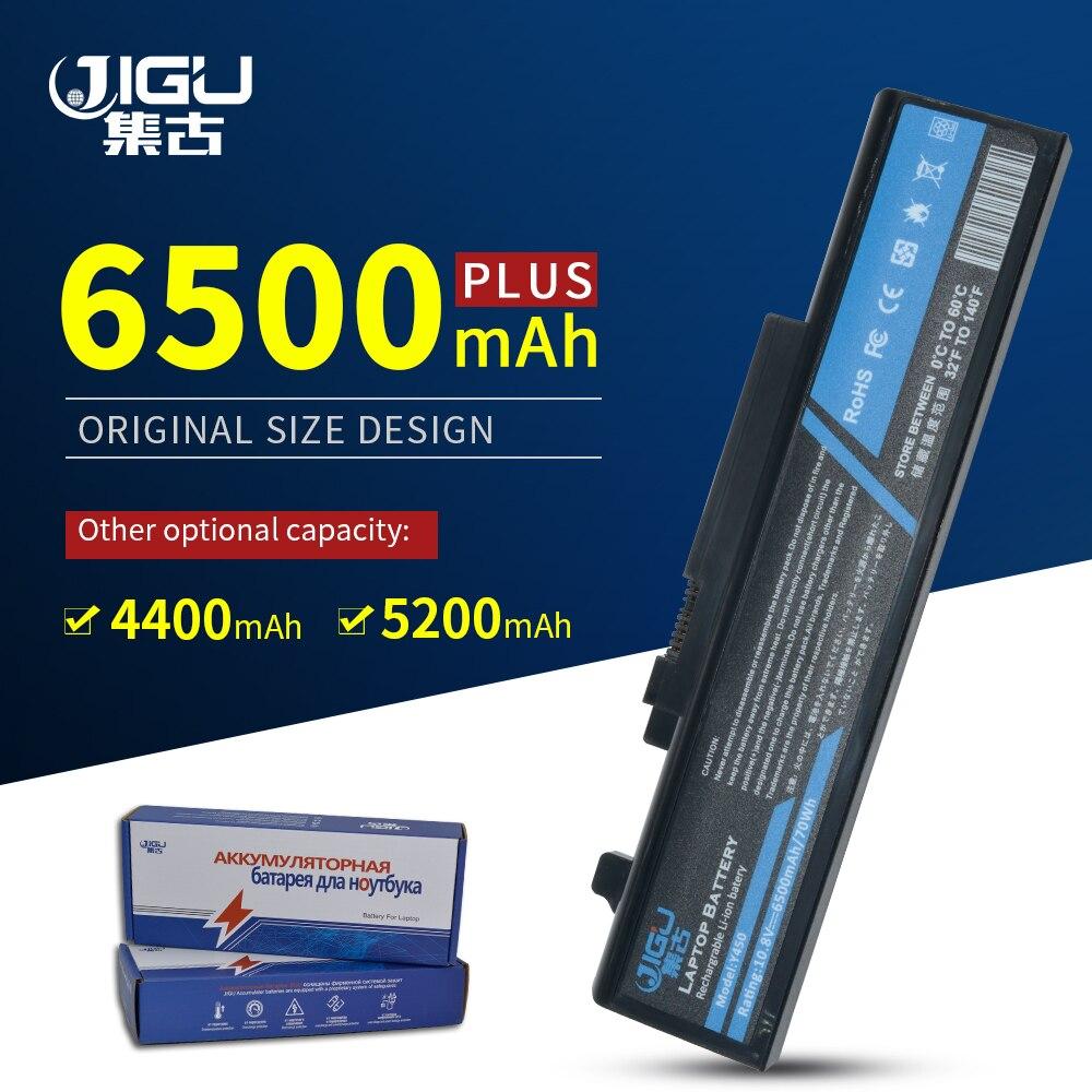 JIGU 10.8V بطارية كمبيوتر محمول L55Y2054 L08S6D13 L08L6D13 L08O6D13 لينوفو ل ينوفو Y450 Y450A Y450G Y550A Y550 Y550P