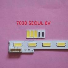 110 adet tamir Sony Toshiba Sharp LED LCD TV arka ışık seul SMD LED 7030 6V soğuk beyaz ışık yayan diyot