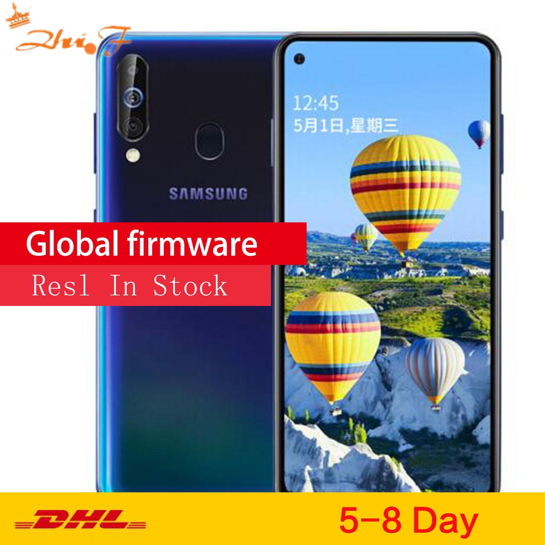 Samsung Galaxy A60 A6060 LTE мобильный телефон 6,3 дюйм 6G ram 64 Гб rom Snapdragon 675 Восьмиядерный 32,0 Мп задняя камера телефон