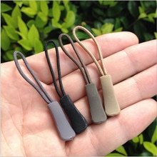 10 unids/pack mezcla de Color cordón con cremallera tira Lariat negro para accesorios de ropa