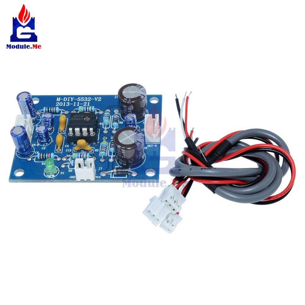 NE5532 OP-AMP Hi-Fi усилитель сигнала усилительная плата Bluetooth модуль предварительного усилителя