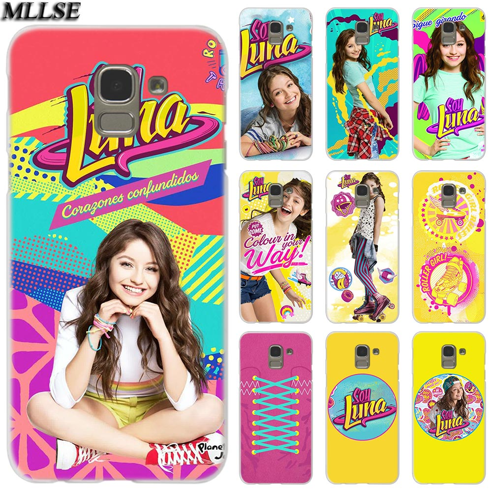 MLLSE revista de Luna de moda cubierta de funda transparente para Samsung Galaxy J2 J4 CORE J3 J5 J7 2016 de 2017 de la UE J8 J6 2018 J4 Plus J7 primer