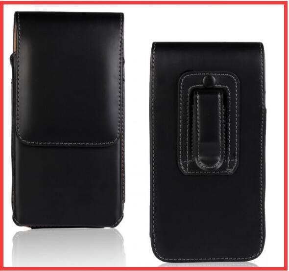 Nova suave/lichee padrão bolsa de couro clipe de cinto bolsa para sony xperia l1/htc one x10/x10 doogee vernee thor e casos de telefone celular