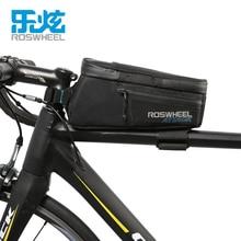 ROSWHEEL complet étanche vélo avant tube supérieur sacs vélo téléphone sac vélo sacs et sacoches cyclisme organisateur pochette attaque