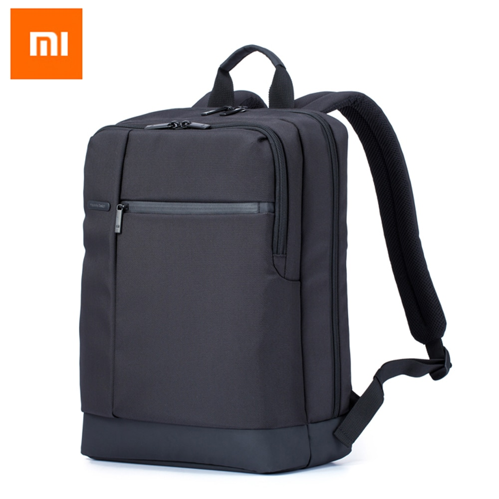Mochila de viaje de negocios Xiaomi 2 con 3 bolsillos compartimentos grandes con cremallera mochila de poliéster 1260D bolsas para ordenador portátil de 15 pulgadas