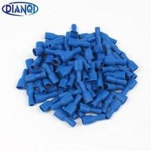 Bornier à sertir électrique isolé pour femmes FDFD2-250, pour connecteurs de fils de 1.5 à 2 mm2, 100 pièces/paquet, FDFD