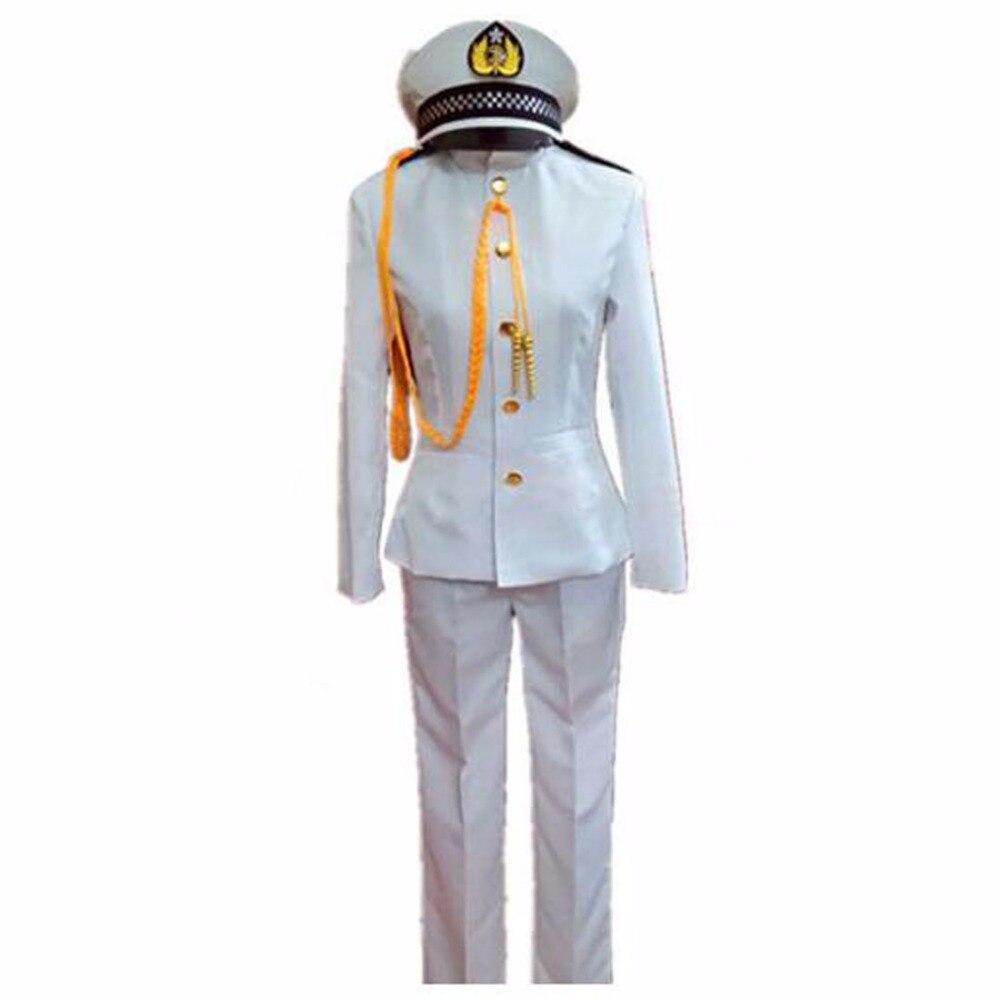 2020 anime traje kantai coleção kantai teitoku t almirante uniformes cosplay traje