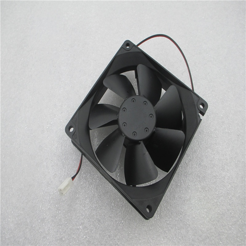 90% nuevo ventilador de refrigeración para 3610KL-04W-B49 F65 92x92x25mm ventilador de potencia del chasis 9 cm 12 v ventilador de cojinete de bola de ordenador de a 3pin