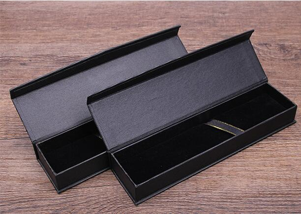 Caja de regalo QSHOIC 10 unids/set, caja de bolígrafo de regalo creativa para escuela, regalo de oficina estacionario, caja de Pluma de negocios negra, caja de regalo para oficina