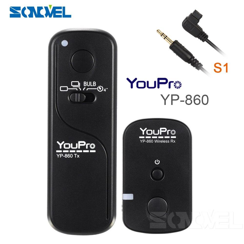 YP-860II S1 inalámbrica cámara de mando con control remoto de liberación para...