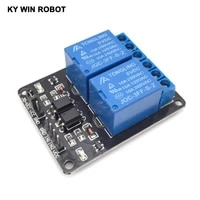 1pcs 2 channel new 2 channel relay module relay expansion board 5v low level triggered 2 way relay module for arduino