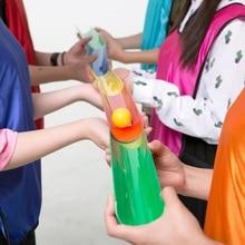 10 pièces/ensemble perles en plastique roulant u-groove piste transmission développement extérieur jeu de formation pour jouet pour enfants