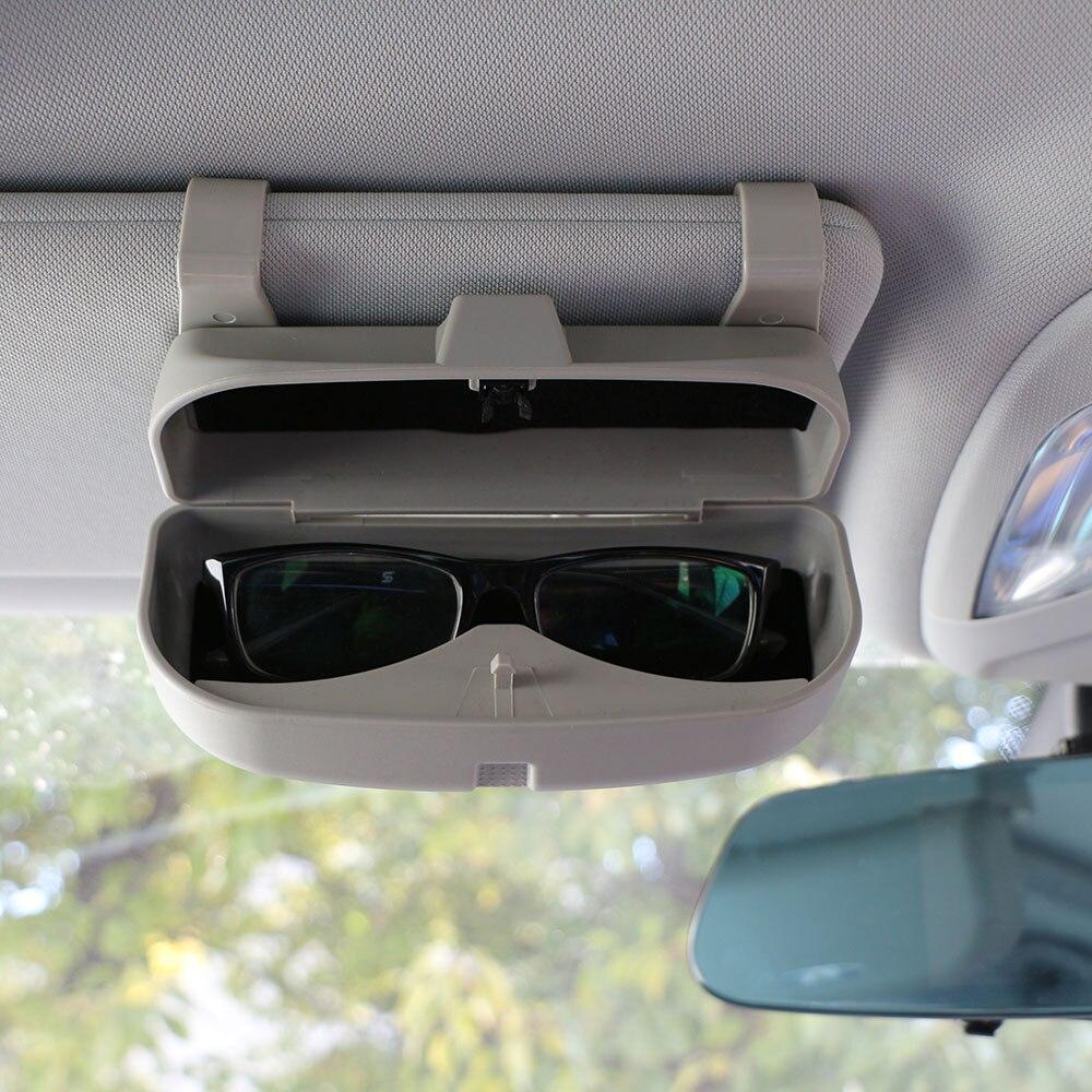 Estuche organizador para gafas de Color My Life, estuche para gafas de sol con bolsillos de almacenamiento para Renault Koleos Kadjar Duster para Samsung QM6 QM3