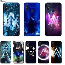 Mobile Phone Case For Xiaomi MiMAX3 6 8 9 10 SE A1 2 3 9T CC9 E Pro LiteSilicone Cover Alan Walker Bag Shell Casing