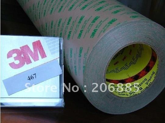 ملصق لاصق مزدوج الوجهين 3m 467MP 200LSE 12 مللي متر * 55 متر 20 قطعة/الوحدة