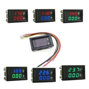 0.28inch LED Digital Voltmeter Ammeter DC 100V 10A  Volt Ampere Meter Amperemeter Voltage Indicator