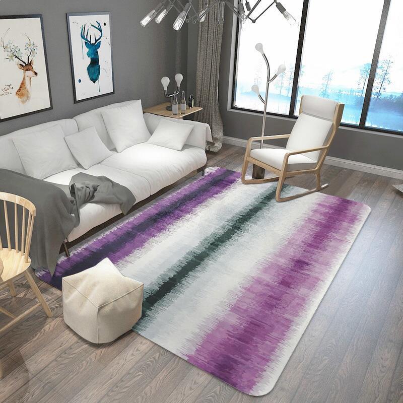 الحديثة الحد الأدنى الفن مجردة السجاد لغرفة المعيشة البحر طاولة القهوة غرفة نوم كامل مخصص مستطيلة كبيرة السجاد