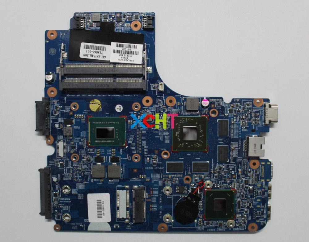 Para HP ProBook 4441S 4540S 712923-601 w I3-3110M CPU w 216-0833002 de 7650M/1GB portátil placa base
