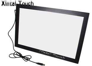 شحن مجاني! Xintai اللمس 32 بوصة USB الأشعة تحت الحمراء متعددة تركيب شاشة لمس ؛ 10 نقاط الأشعة تحت الحمراء متعددة إطار شاشة تعمل باللمس لتلفزيون LED