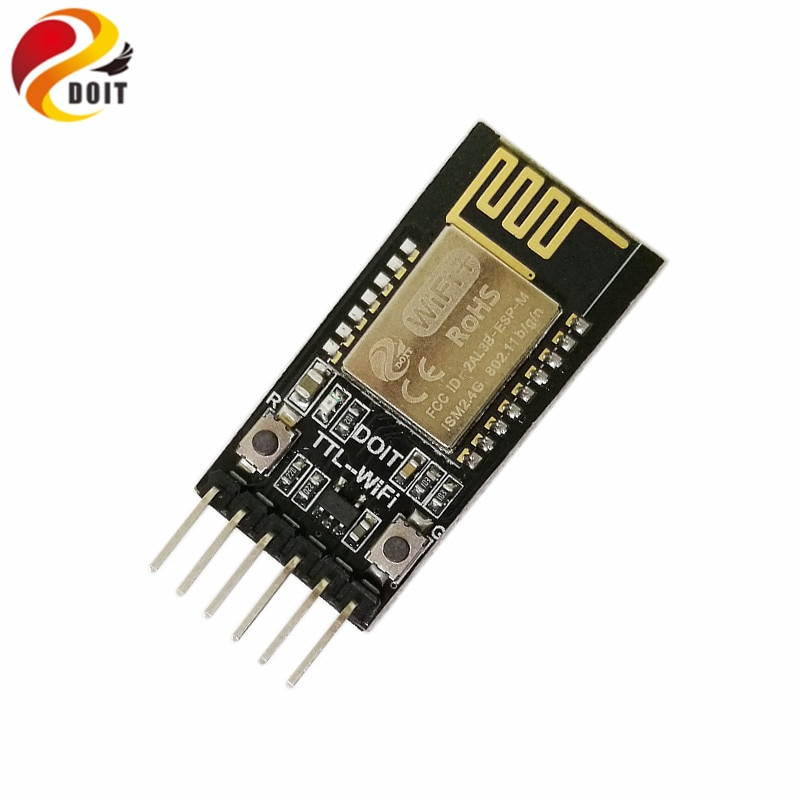 Módulo de transmisión transparente de puerto Serial WiFi inalámbrico DT-06 TTL Compatible con WiFi con interfaz de HC-06 Bluetooth para coche