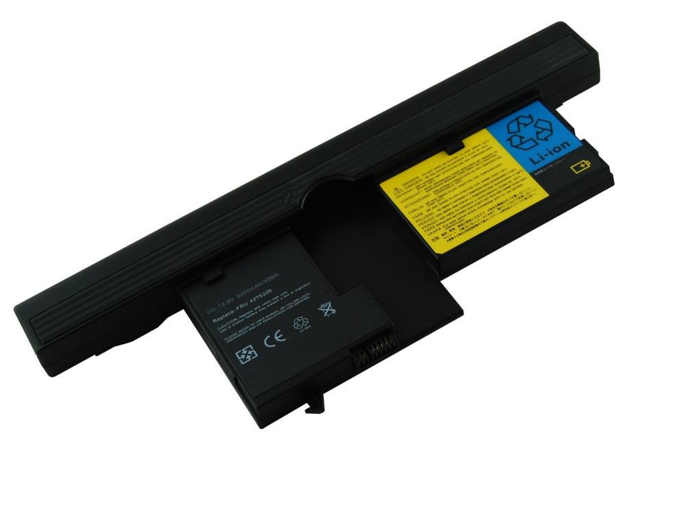 Bateria do portátil substituir para thinkpad x60, x61 tablet pc, 40y8314, 40y8318, asm 42t5209, fru 42t5204, fru 42t5206, fru 42t5208