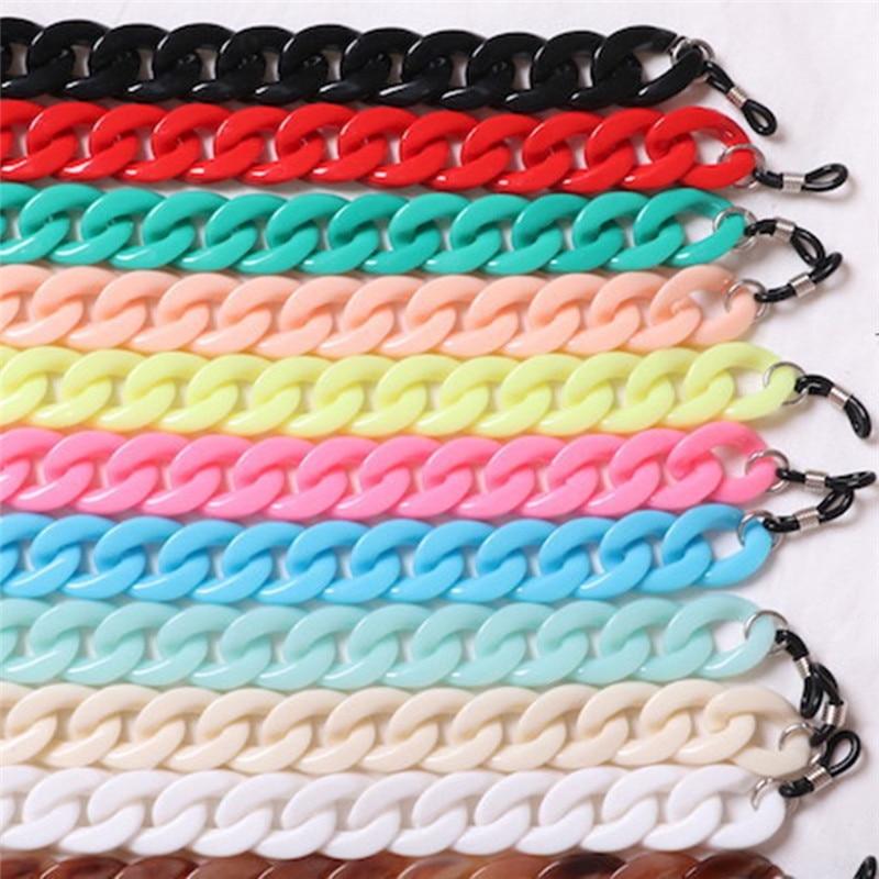 Imixlot Ретро 70 см цепь для очков шнур Классический Новый дизайн 20 цветов шнурок для очков ремешок ожерелье для чтения шнурок для очков