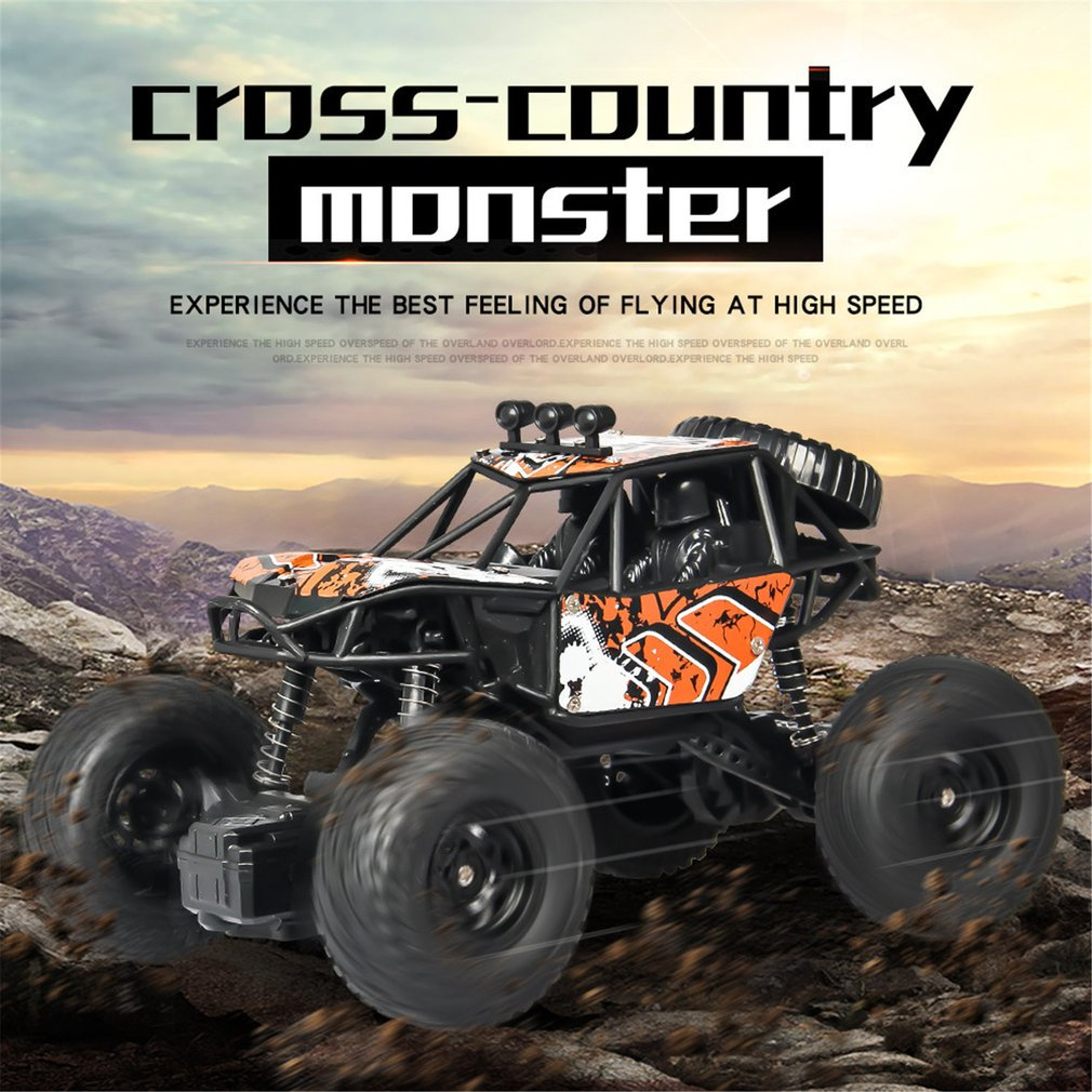S-003 1/20 escala 2,4 Ghz 4WD alta velocidad RC Crawler Climber Buggy Off-Road Rock RC Control remoto coche modelo RTR con impermeable HO