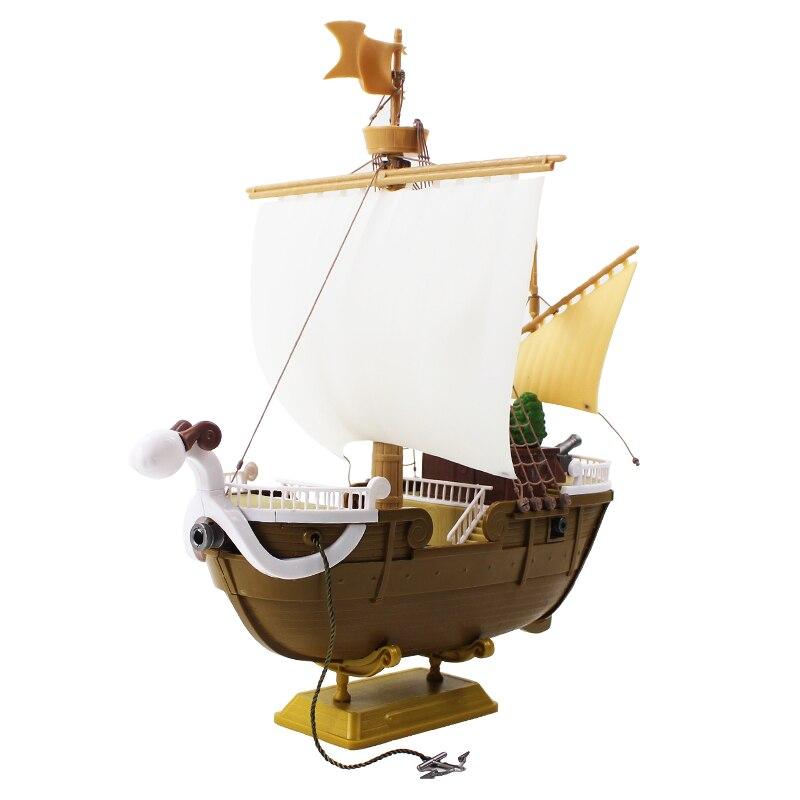 26cm una pieza Going Merry Monkey D pirata Luffy barco sombrero de paja gran barco PVC figura de acción juguete de modelos coleccionables