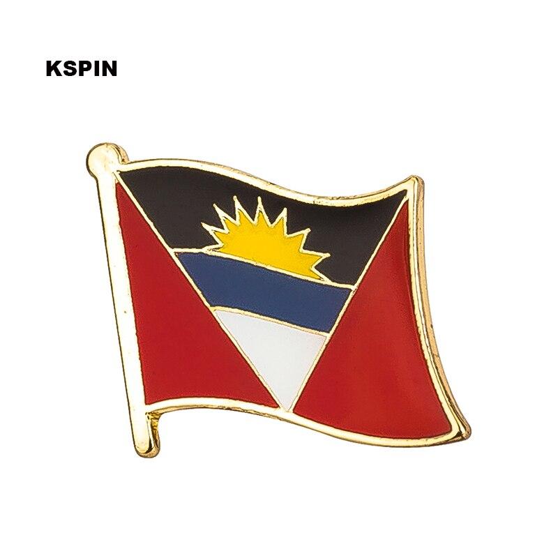 Antigua bandera pin de solapa insignias para prendas de vestir Rozety Papierowe icono mochila KS-0016