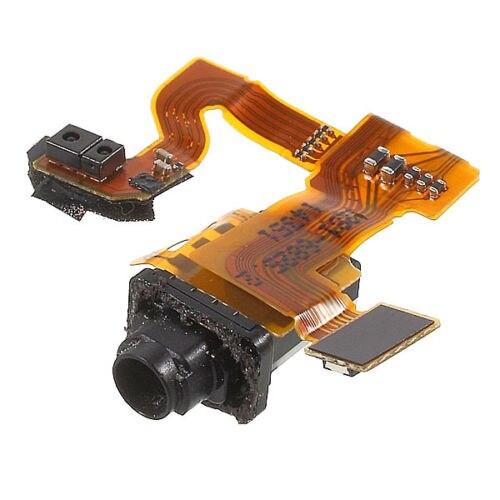 Para Xperia Z3 compacto auricular Jack Flex Cable cinta genuino nuevo 10...