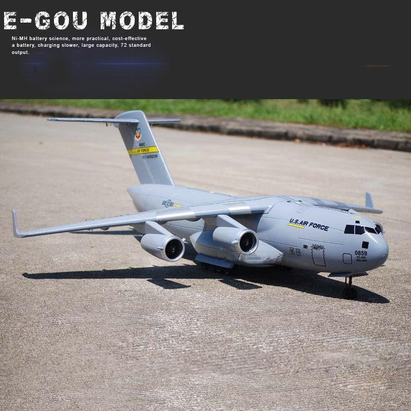 C-17 Transport Large RC Airplane UAV 1470mm Wingspan EPO Assembling Aerial Survey Aircraft DIY RC Airplane KIT RC Model