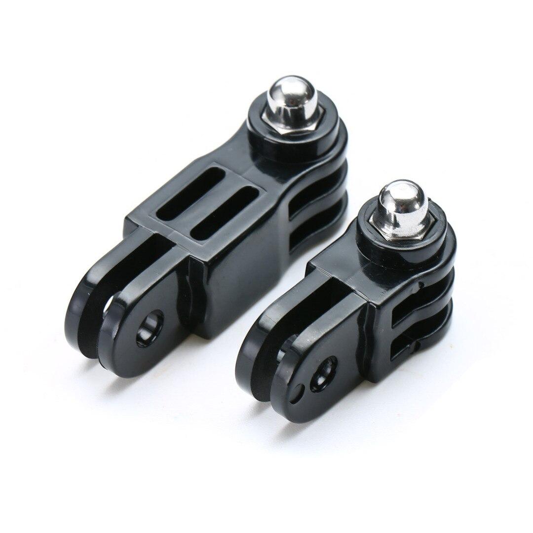 Alta qualidade preto longo & curto conjunto de acessórios para gopro hero 3 +/3/2/1/4 câmera acessórios