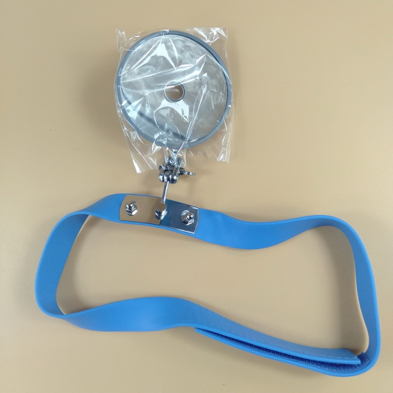 Reflector for Medical 8mm Forehead Viewfinder for Otolaryngology Doctors intern students Frontal Mirror Special for ENT