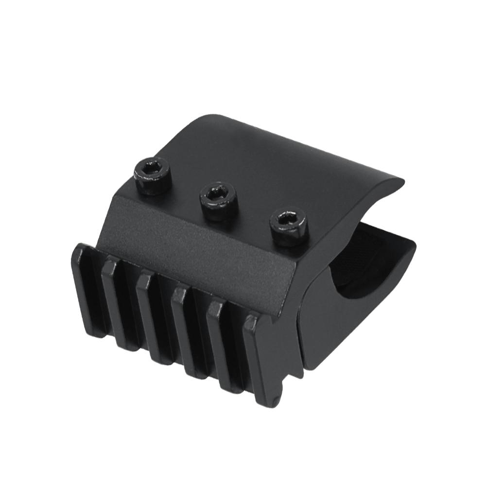 Suporte de visão faixa conversor 20 mm faixa base adaptador com mira laser base lanterna escopo montagem airsoft rifle acessórios