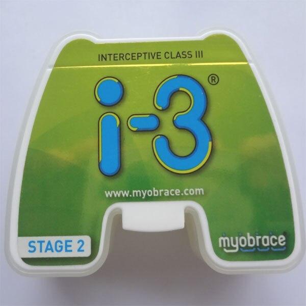 Myobrace Interceptive Class III i-3 מאמן/מקורי MRC I-3 שיני אורתודונטי מאמן
